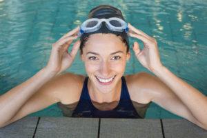 Schwimmen zum Abnehmen