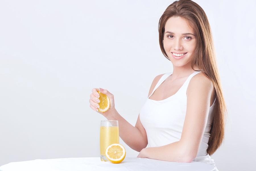 Zitronensaft-Diät