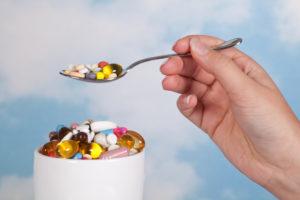 Diätpillen und Nahrungsergänzungsmittel